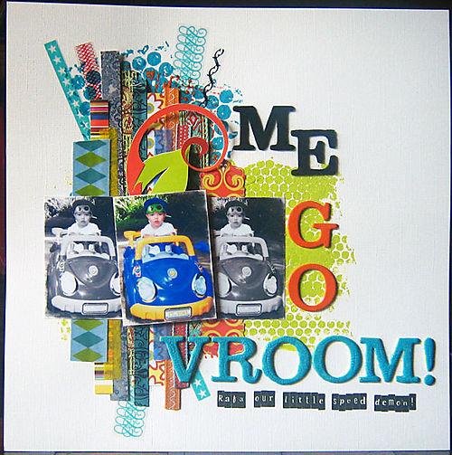Me Go Vroom Apron Challenge Winner Mia Caniza