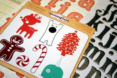 Special Edition Kit Santas Candyland Cottage CU2 004