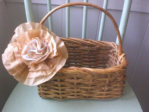 Coffee filter flowers, hawk at papa's, sock baby and cap 004